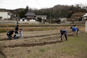 広島県福山市の施設は休耕地が増えている地域で、付加価値の高い「自然栽培」に取り組み始めています。